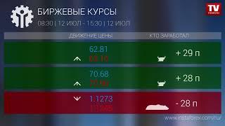 InstaForex tv news: Кто заработал на Форекс 12.07.2019 15:30