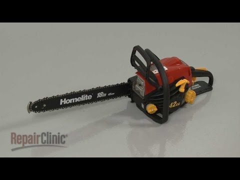 Homelite Chainsaw Disassembly