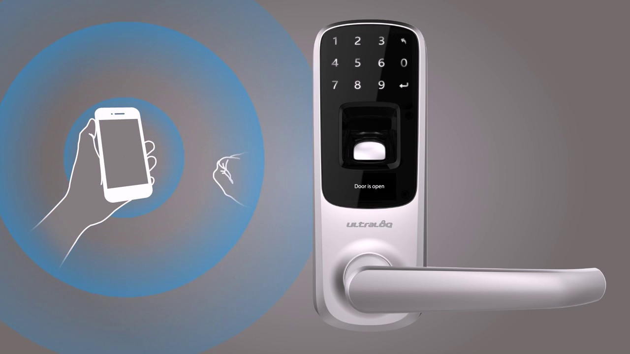 Ultraloq Ul3 Bt Bluetooth Enabled Fingerprint And