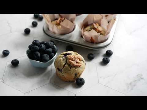 Quick & Easy Blueberry Muffins