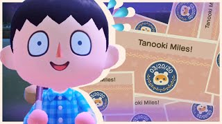 Crooked Smiles for Nook Miles • Tanooki Town