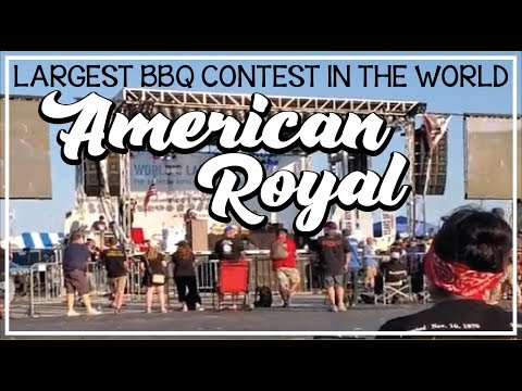 American Royal World Largest BBQ Contest Highlights With Harry Soo SlapYoDaddyBBQ.com