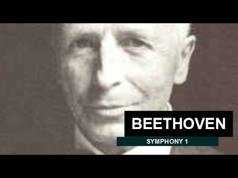 Beethoven, Symphony No. 1 in C major, Op. 21 / Carl Schuricht ( 1958 )