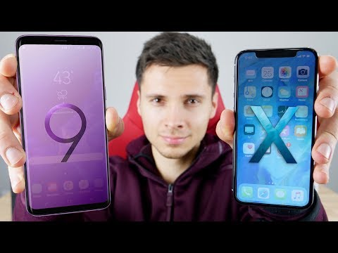 Samsung Galaxy S9 vs iPhone X! Which Should You Buy?