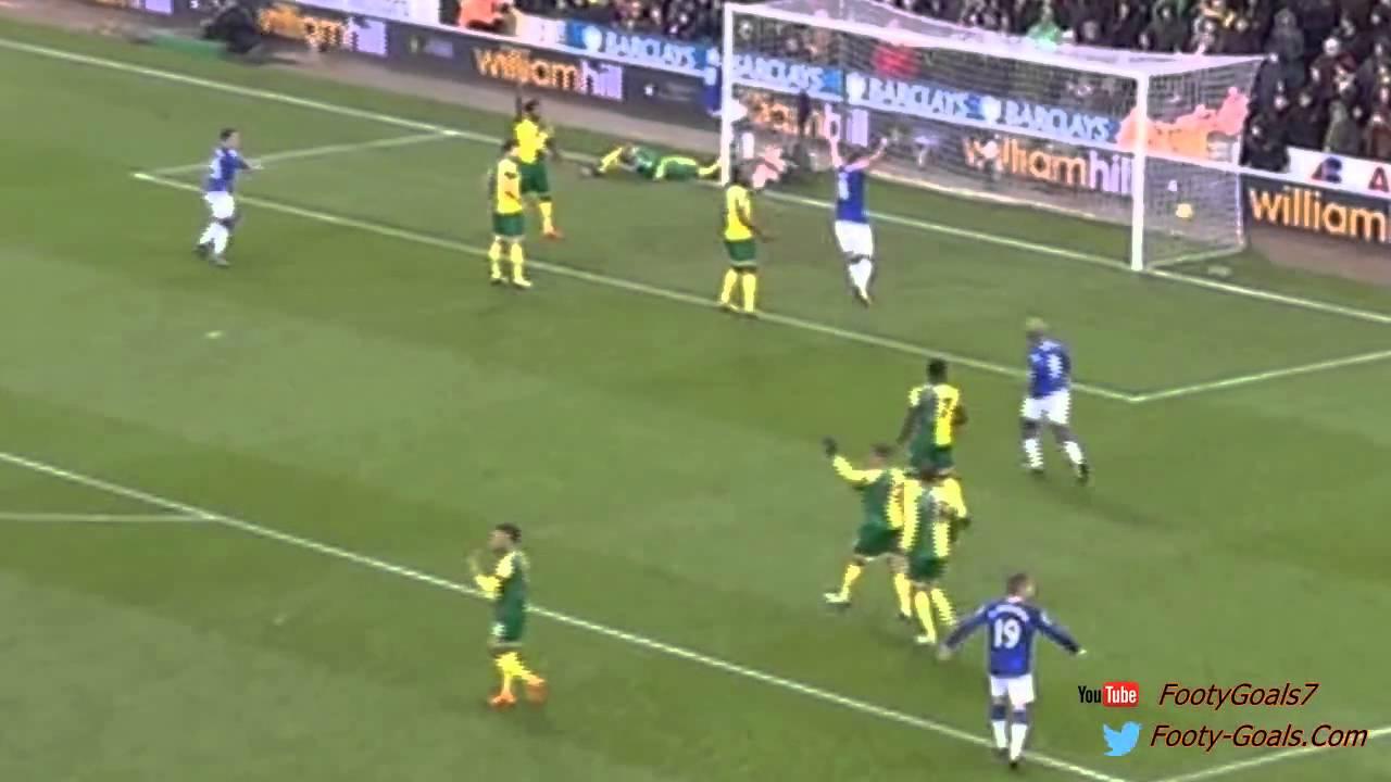 Romelu Lukaku Goal - Norwich vs Everton 0-1 (Premier ...