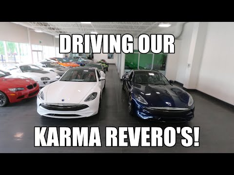 UNWRAPPING AND DRIVING THE KARMA REVERO!