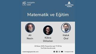 rastgele 41 - Matematik ve Eğitim - Ali Nesin, Haluk Oral, Kübra Dölaslan