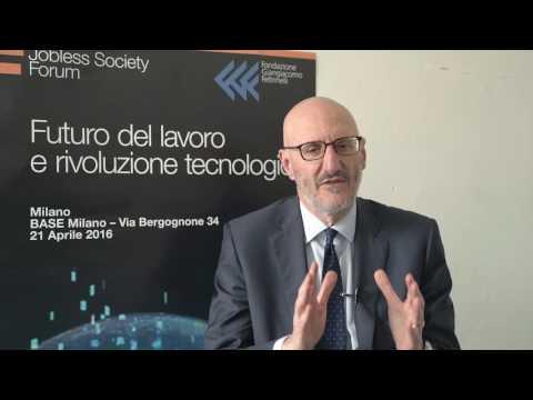 Jobless Society Forum | IV rivoluzione industriale | Francesco Caio
