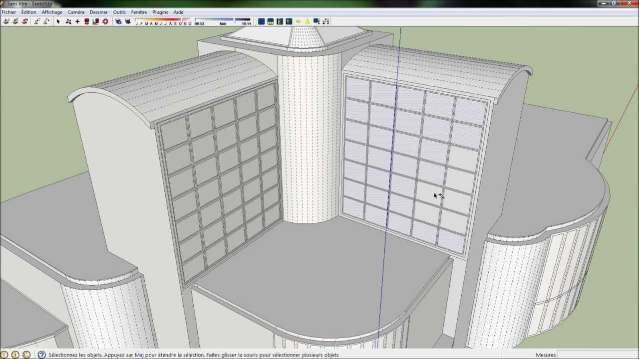 Google sketchup 8 hotel modeling hd kerkythea render for 8 design hotel