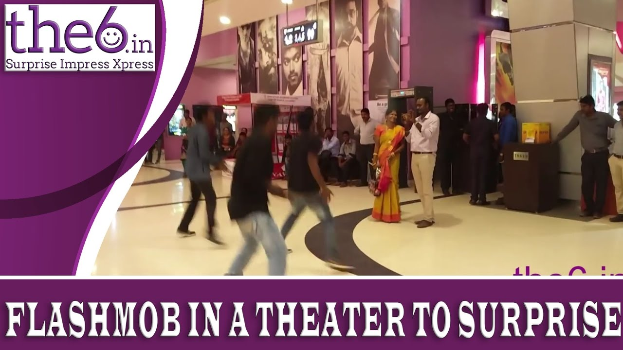 Flashmob in Chennai - Personalized Flash Mob Surprise for