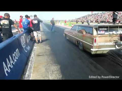 SWAMP THING Longtop v/s Cromod, from the start line at American Outlaw live