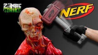 NERF WAR:   ZOMBIE STRIKE HAMMER!!! Zombie Go Boom!