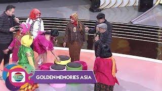 SERU BANGET!!! Aksi Ibu - Ibu Joget Sambil Rebutan Bangku Golden Sampai Jatuh Bangun