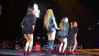 Leslie Grace Ft Noriel - Duro Y Suave Luna Park, Argentina  Rumbacomercial.com