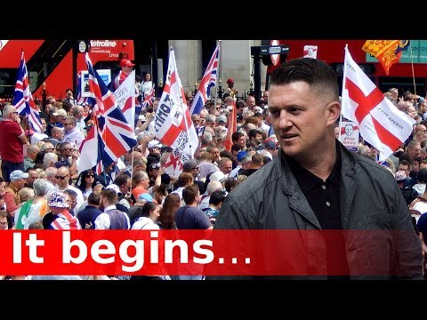 Tommy Robinson and the Coming Revolution