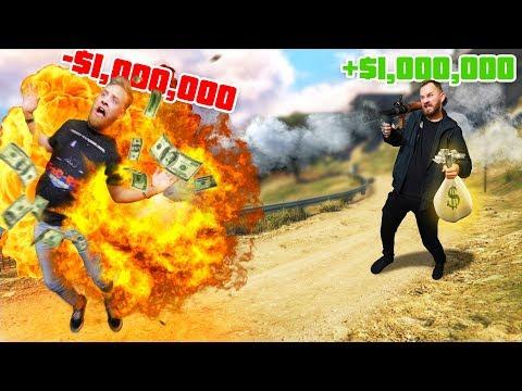 You DIE, You LOSE $1,000,000! | GTA5