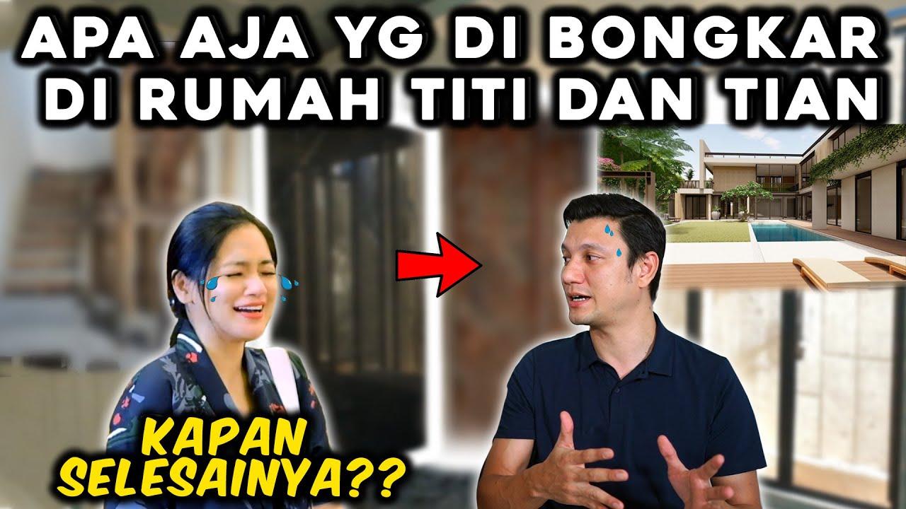 NANGIS!!! ROMBAK LAGI RUMAH TITI DAN TIAN DAN BANGUN STUDIO?