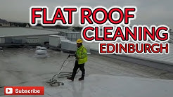 Rubber Membrane Roof Cleaning
