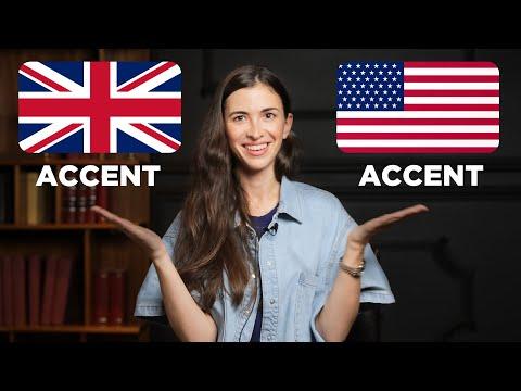 BRITISH VS AMERICAN ACCENT EXPLAINED