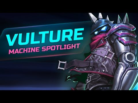 Machine SpotLight: VULTURE, the Bounty Hunter and first biker of Metal City