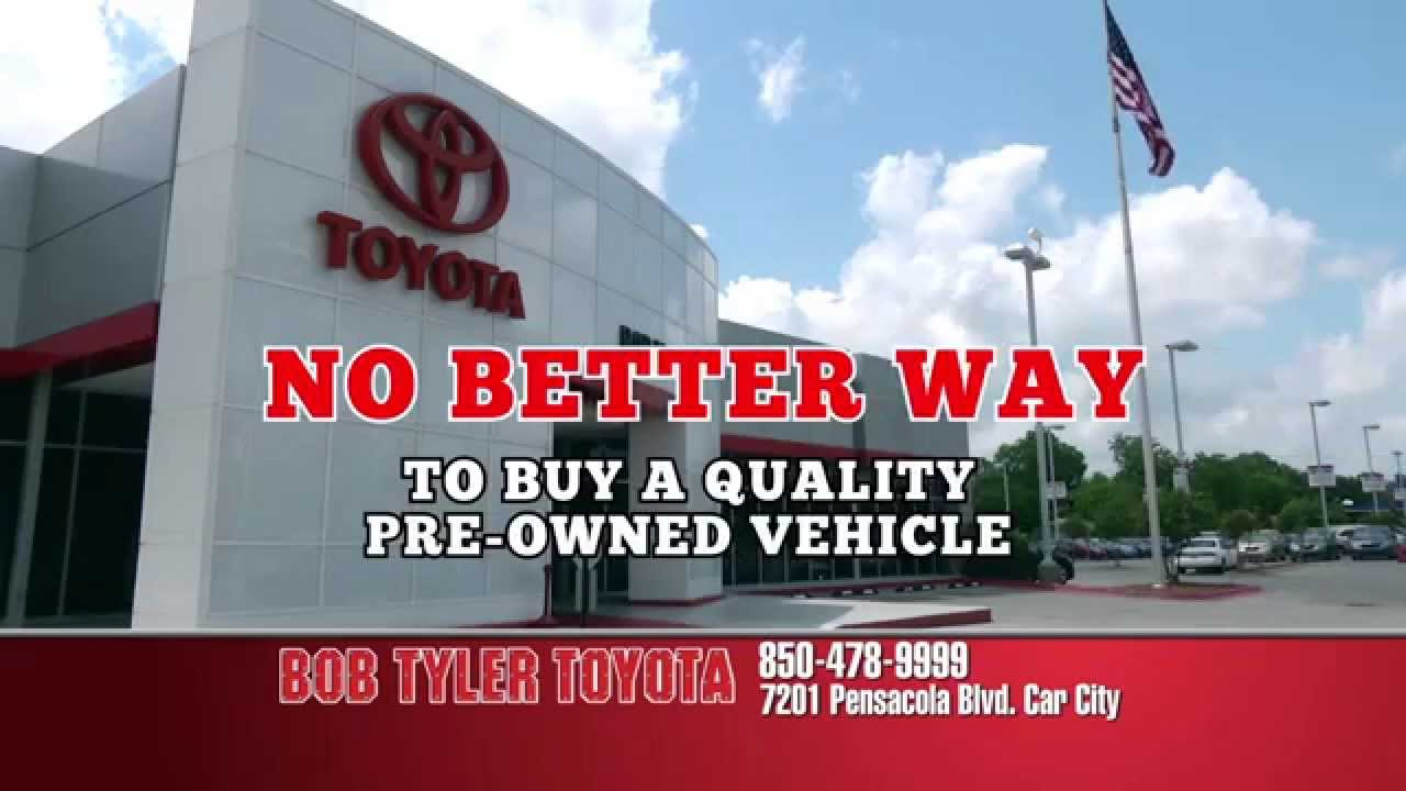 no haggle used car pricing at bob tyler toyota pensacola youtube. Black Bedroom Furniture Sets. Home Design Ideas