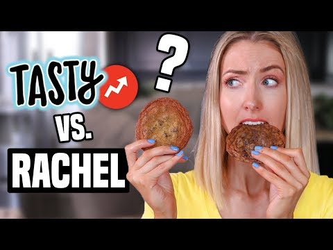 TESTING TASTY BUZZFEED Vs. RACHHLOVES: Chocolate Chip Cookies Recipes?!