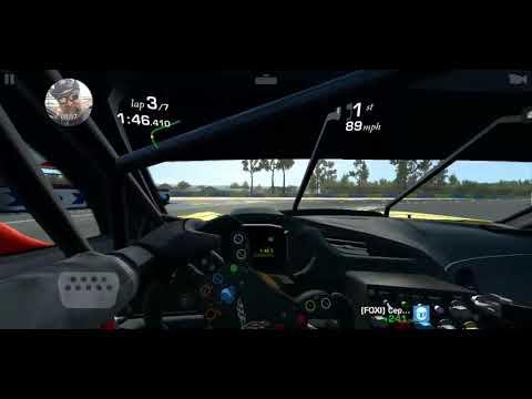 Real Racing 3 Corvette C7.R At Le Mans