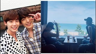 Kim Woo Bin And Lee Jong Suk Are Reported To Go On A Vacation To Hawaii Together