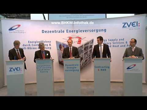 Die Energiewende in der Klemme? Forum Dezentrale Energieversorgung auf der Hannover Messe 2013