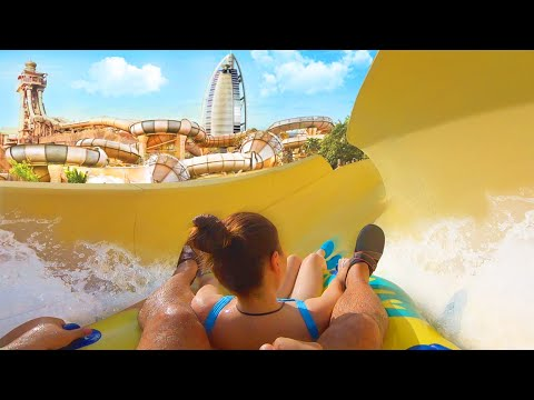 DUBAI'S CRAZIEST WATER PARK FAILS !!! Wild Wadi Waterpark 2019