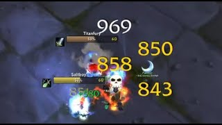 """Bajheera - """"HOLD THE LINE!"""" (World PvP Clips) - Classic WoW Arms Warrior"""