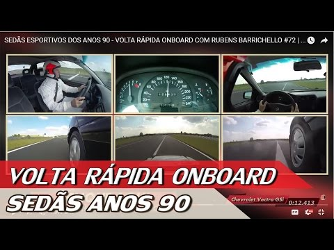 SEDÃS ESPORTIVOS DOS ANOS 90 - VOLTA RÁPIDA ONBOARD COM RUBENS BARRICHELLO #72   ACELERADOS