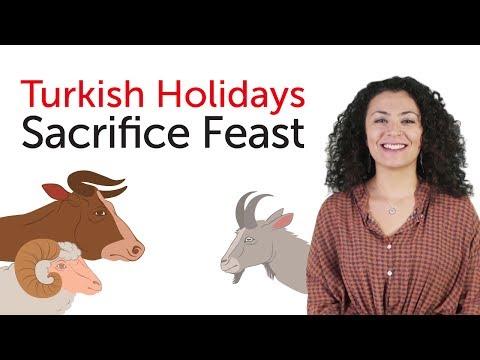 Turkish Holidays - Sacrifice Feast - Kurban Bayramı