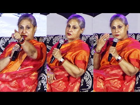 CAUGHT : Jaya Bachchan ANGRY, Shouts, Blasts On Students