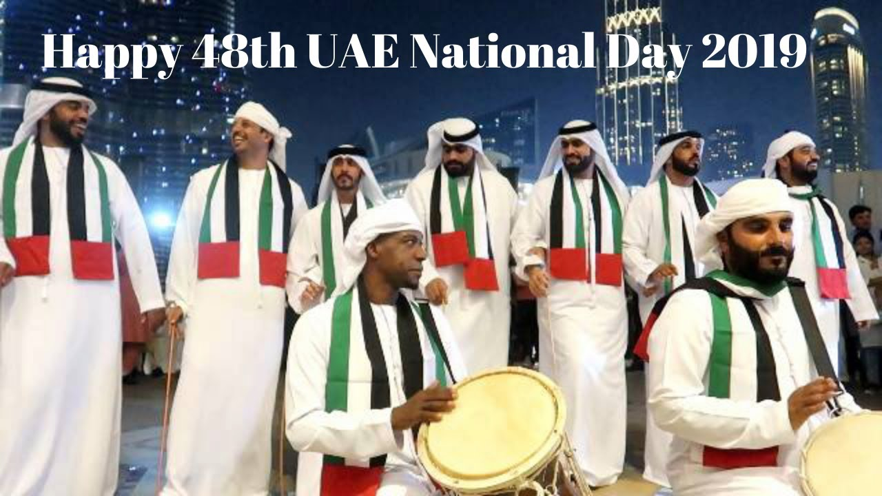 UAE 48th National Day celebration at Burj Khalifa 2019