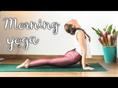 Morning Yoga - 20 Minute Energizing Full Body Stretch for Beginners