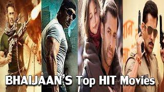 Salman Khan' Top 12 Hit Movies Of All Time | Tiger Zinda Hai | Bajarangi Bhaijaan | Dabang Wanted