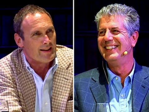 Anthony Bourdain and A. A. Gill: The Organic Debate