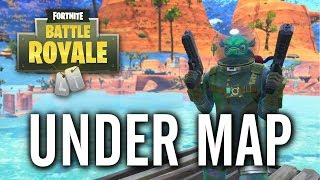 Fortnite - Paradise Palms Under the Map Shopping Cart Glitch