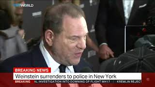 Harvey Weinstein surrenders to police in New York thumbnail
