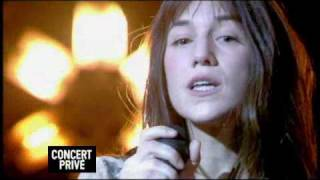 Charlotte Gainsbourg sings live Time Of The Assassins - concert prive for Canal+