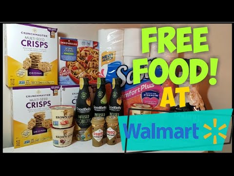 FREE Coffee & FREE Food at Walmart! Ibotta Deals & Couponing