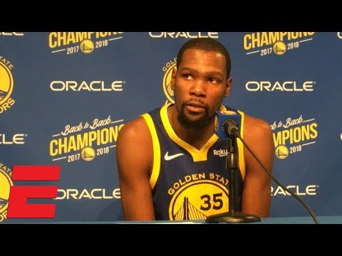 Kevin Durant's 49-point game was 'about getting the best shot' | NBA Sound