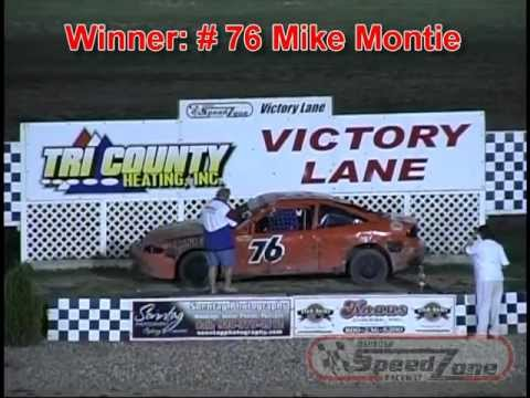 Oshkosh Speedzone Raceway - August 31, 2012 - Dirt Devil Feature