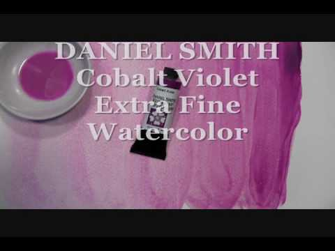 Cobalt Violet Watercolor by DANIEL SMITH