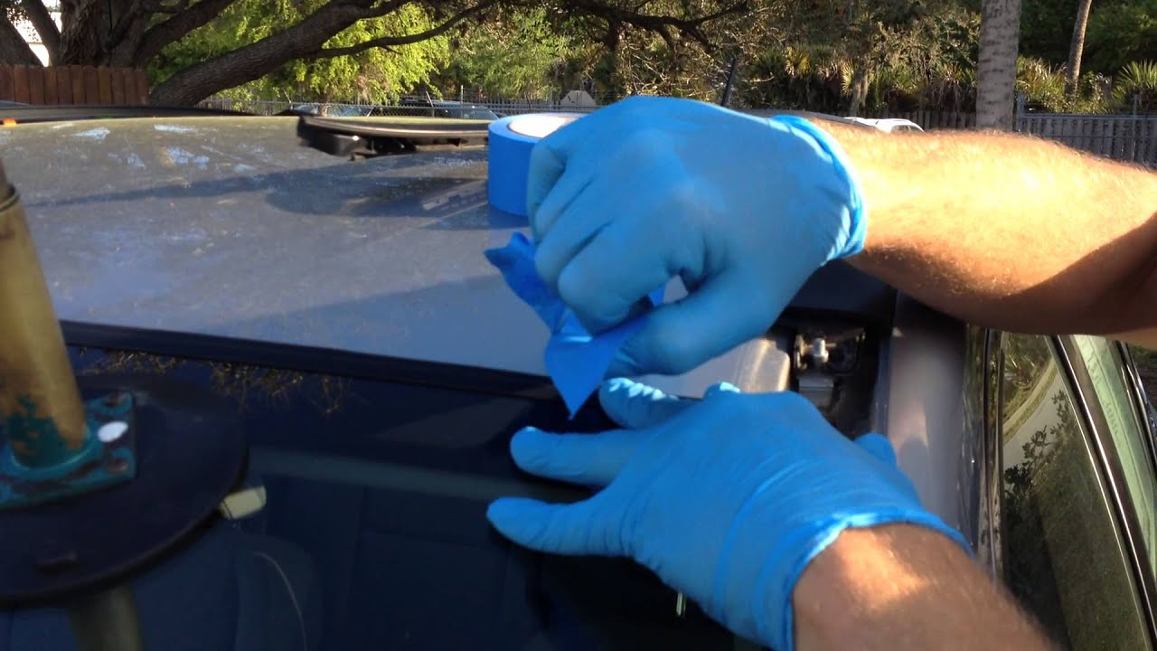 install windshield    honda crv   rolladeck system youtube