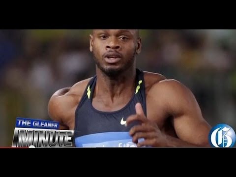 THE GLEANER MINUTE: Asafa arrives home... Trainer hits back... Coach questioned... Hanna blasts JFJ