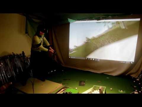 HTC VIVE 가상현실 골프 게임 - The Golf Club VR