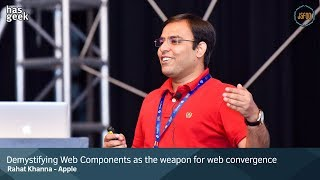 Demystifying Web Components as the Weapon for Web Convergence