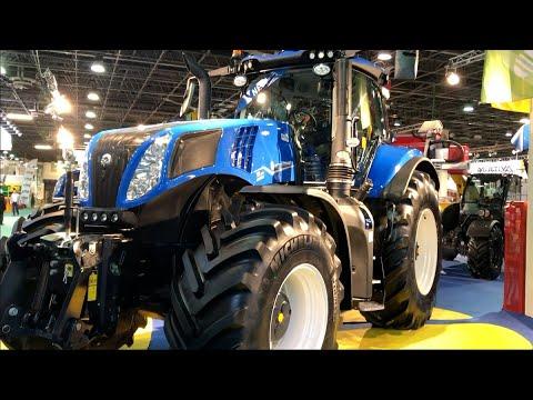 Íme a legújabb New Holland T8.380 traktor